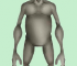 3D image of an extra terrestrial being