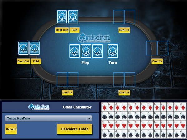 CardsChat poker odds calculator