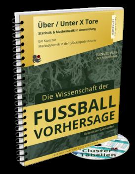 Kursbuch & Tabellen: Basiswissen Sportwetten - Mehr als/ Weniger als X Tore