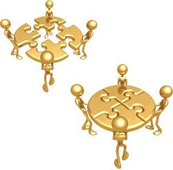 Goldenes Puzzle