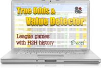 True Odds Calculator & Value Bets Detector