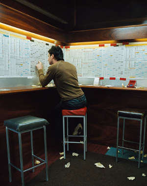 Traditional bookmakers betting shop