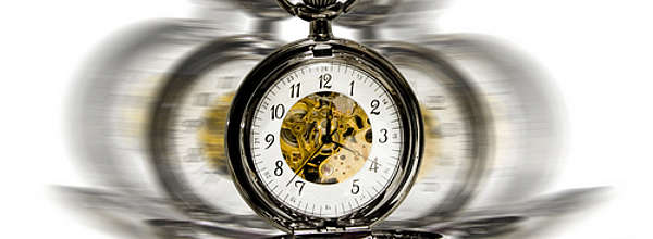 Pocketwatch in motion