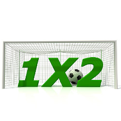 Conceptual image of 1x2 football betting