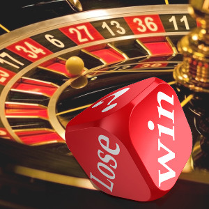 Win/Lose on Dice and Roulette Wheel