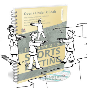 Cartoon Searching for the edge + OU course book cover